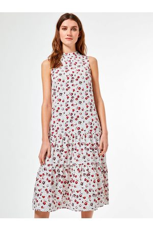 Billie & Blossom by Dorothy Perkins Bílé květované šaty