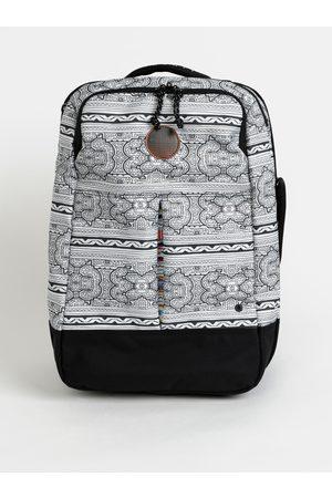 Rip Curl Bílý vzorovaný kufr Mai Ohana 35 l