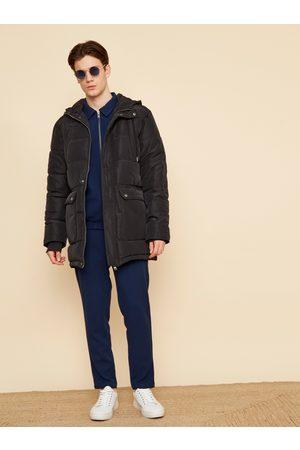 Zoot Černá pánská prošívaná zimní bunda