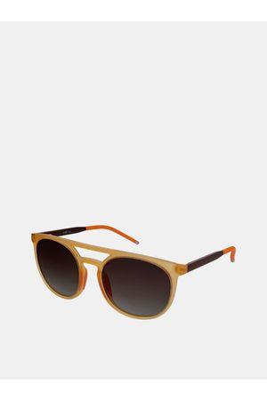 crullé Oranžové dámské sluneční brýle