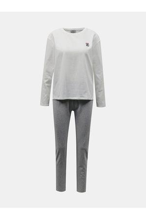 Fila Bílo-šedé dámské pyžamo