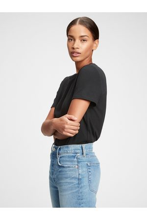GAP Černé dámské tričko organic vintage
