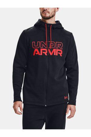 Under Armour Černá mikina BASELINE FULL ZIP HOODIE