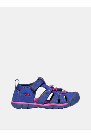 Keen Růžovo-modré holčičí sandály Seacamp II CNX C