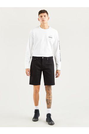 Levi's Černé pánské džínové šortky