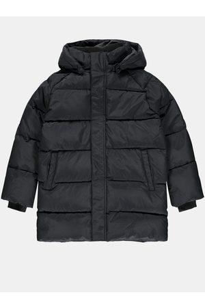 NAME IT Černá holčičí zimní prošívaná bunda