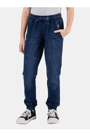 sam 73 Tmavě modré holčičí kalhoty Maeve
