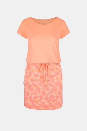 LOAP Ženy Šaty - Dámské oranžové šaty Asmen