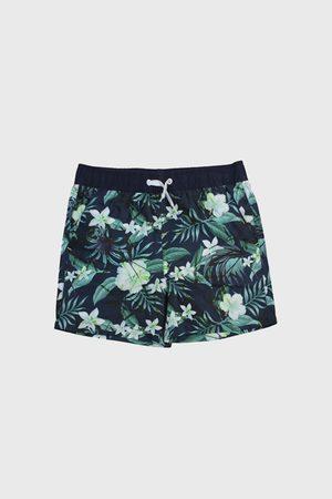 Lentiggini a Mila Swimwear Chlapecké plavkové šortky Hawai