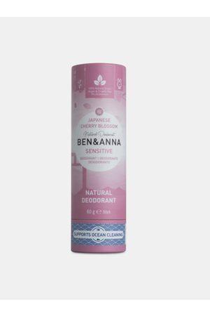 Ben & Anna Tuhý deodorant Sensitive BIO - Třešňový květ 60 g