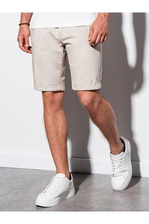 Ombre Clothing Pánské casual kraťasy W243 - světle