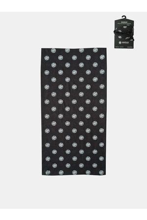 sam 73 Černý vzorovaný multifunkční šátek