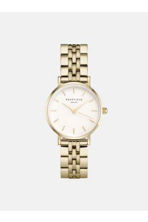ROSEFIELD Dámské hodinky s nerezovým páskem ve zlaté barvě