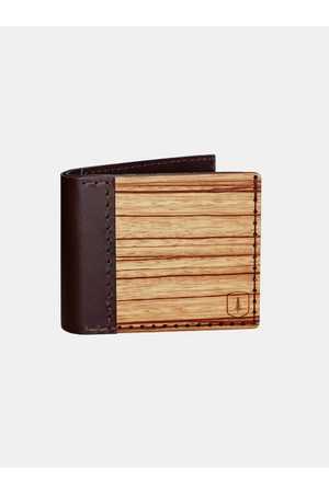 BeWooden Kožená peněženka Lineari, pánská