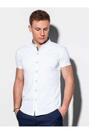 Ombre Clothing Pánská košile s krátkým rukávem K543