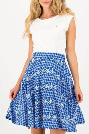 Blutsgeschwister Sukně Fullmoon Circle Skirt Dutch Delft