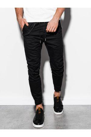 Ombre Clothing Pánské jogger kalhoty P908 - černé