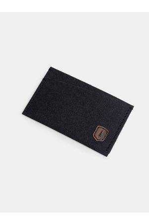 BeWooden Černý vizitkovník z pratelného papíru Nox Washpaper Card Holder