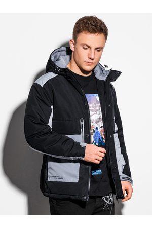 Ombre Clothing Pánská zimní prošívaná bunda C460