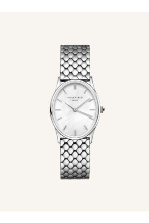 ROSEFIELD Dámské hodinky s nerezovým páskem ve stříbrné barvě