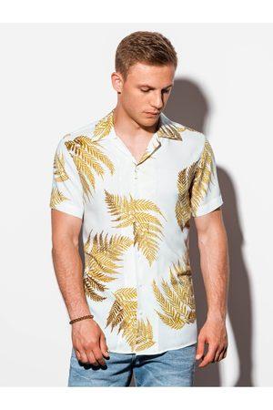 Ombre Clothing Pánská košile s krátkým rukávem K558