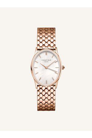 ROSEFIELD Dámské hodinky s nerezovým páskem v růžovozlaté barvě