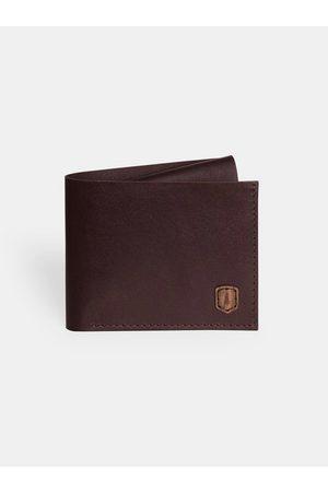 BeWooden Kožená peněženka Brunn Coins Wallet