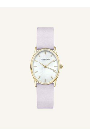 ROSEFIELD Dámské hodinky se světle fialovým koženým páskem