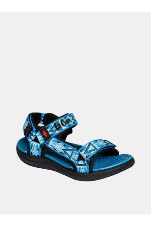 Lee Cooper Modré klučičí vzorované sandály