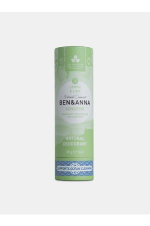 Ben & Anna Tuhý deodorant Sensitive BIO - Citrón a limetka 60 g