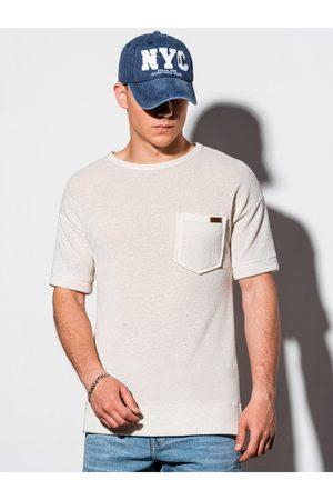 Ombre Clothing Pánské tričko s krátkým rukávem B1069