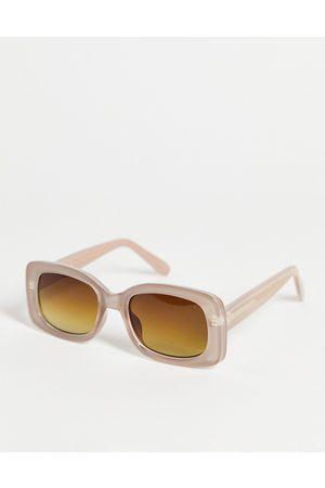 A. Kjærbede Sluneční brýle - Salo unisex round sunglasses in light grey