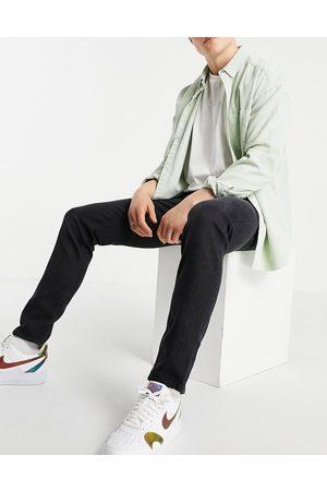 ASOS Muži Slim - Slim jeans in washed black