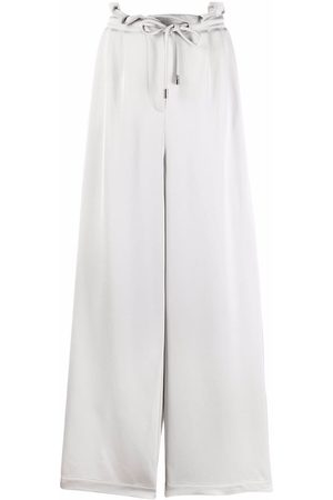 Emporio Armani High-waisted wide-leg trousers
