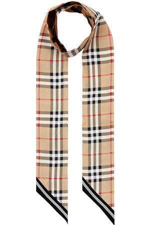 Burberry Šály a šátky - Vintage Check skinny scarf