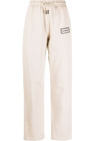 OFF-WHITE Logo patch track pants