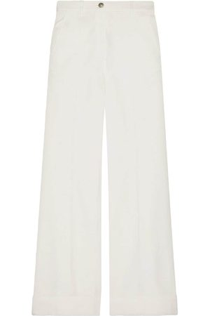 Gucci High-waisted flared jeans