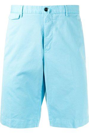 PT01 Muži Bermudy - Mid-rise cotton bermuda shorts