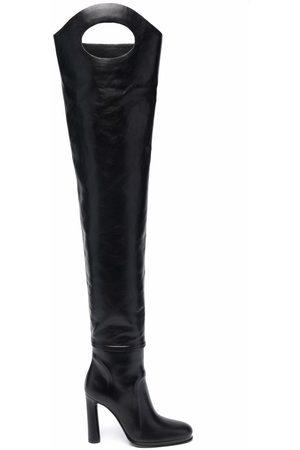 Burberry Ženy Nad kolena - 110mm above-knee boots