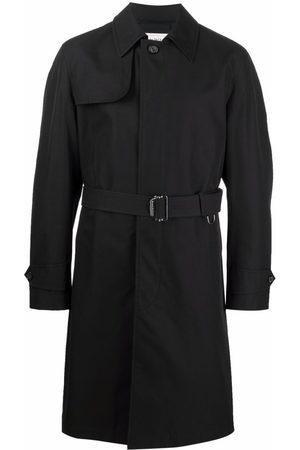 Alexander McQueen Muži Trenčkoty - Mid-length trench coat