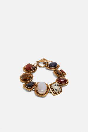 Zara Náramek s kombinovanými kameny z limitované edice