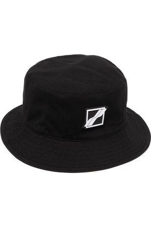 We11 Done Klobouky - Square-logo bucket hat