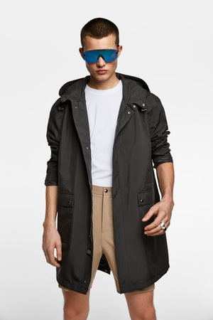 Zara Asymmetric technical parka