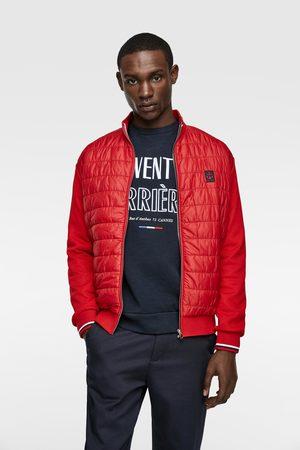 Zara Kombinovaná prošívaná bunda