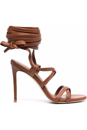 Giuliano Galiano Ženy Sandály - Jennifer ankle-tie leather sandals
