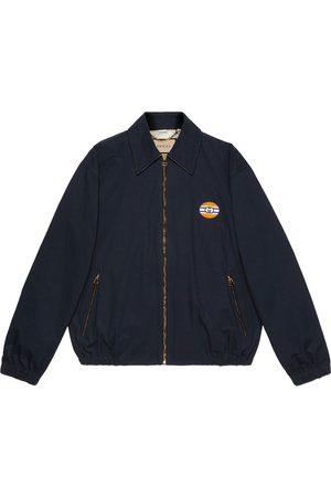 Gucci Muži Bombery - Zipped bomber jacket