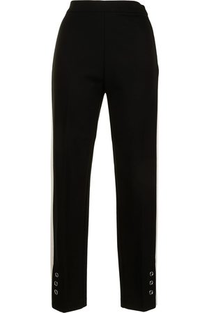 Twin-Set Slim-fit track style trousers