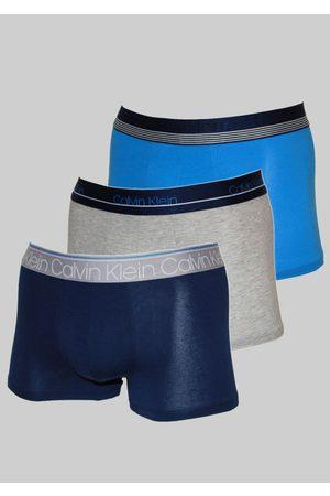Calvin Klein Muži Boxerky - Pánské boxerky NB2337A T6E 3Pack L