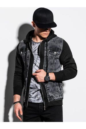 Ombre Clothing Pánská riflová bunda C322