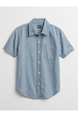 GAP Klučičí dětská košile chambray shirt